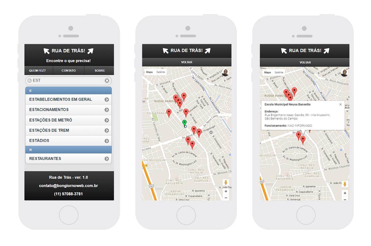 Google Maps API jquery mobile html5 css3