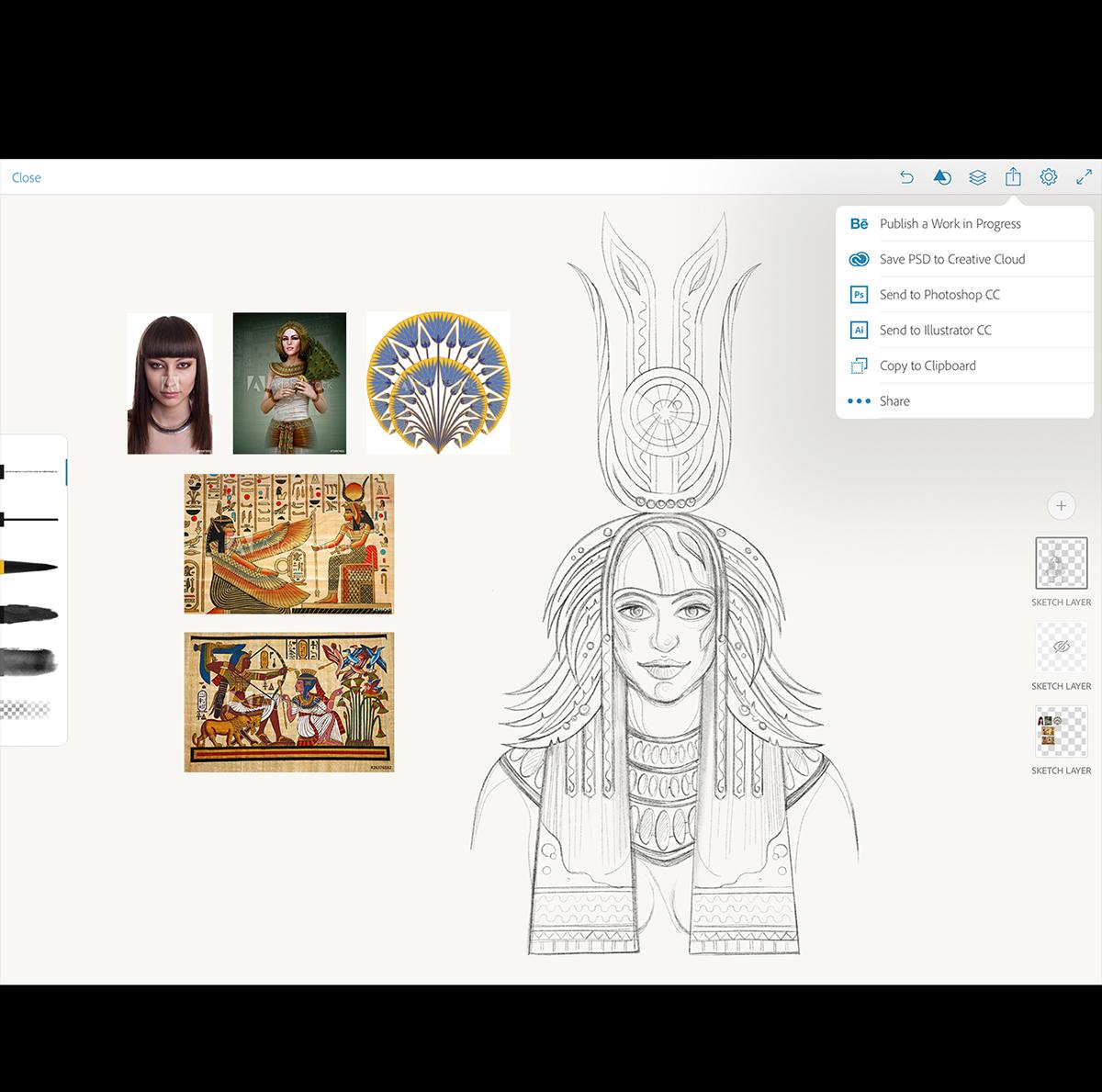 adobe draw send to illustrator