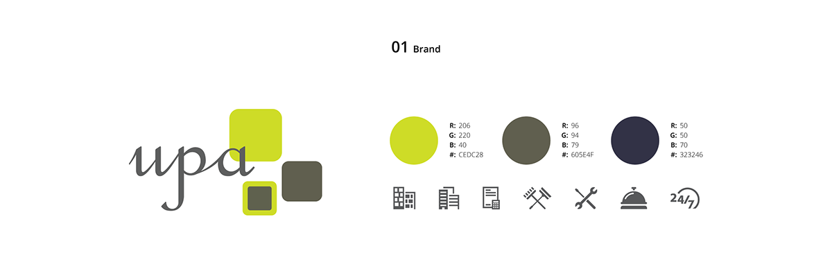 UPA - Brand Identity and Website on Student Show