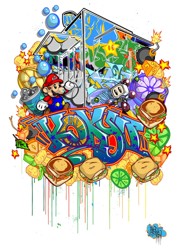 art spraypaint grafitti