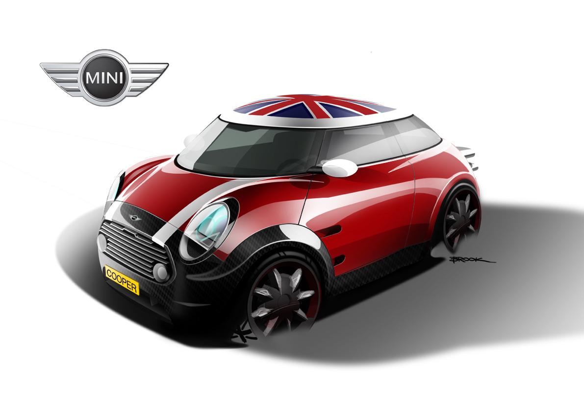 Mini Cooper Redesign On Behance
