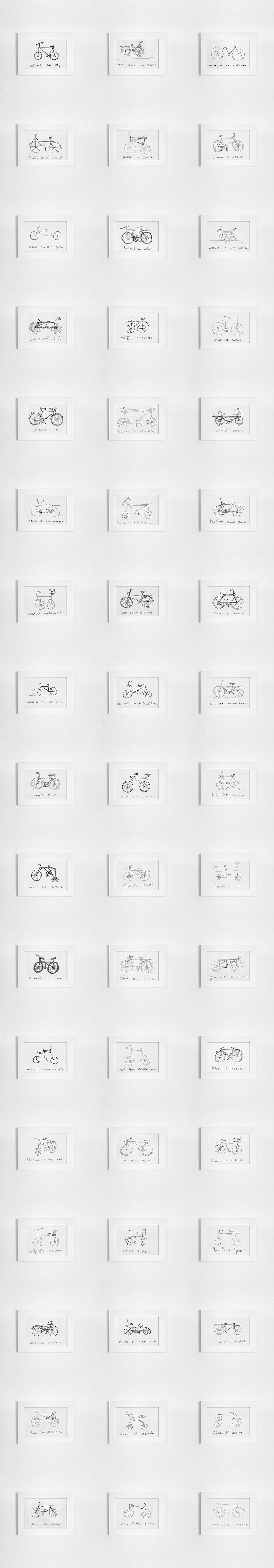 Bicycle Bike Encyclopedia crowd sourced crowd sourcing rendering photoshop Editing  Post Production art design communication Communication Design