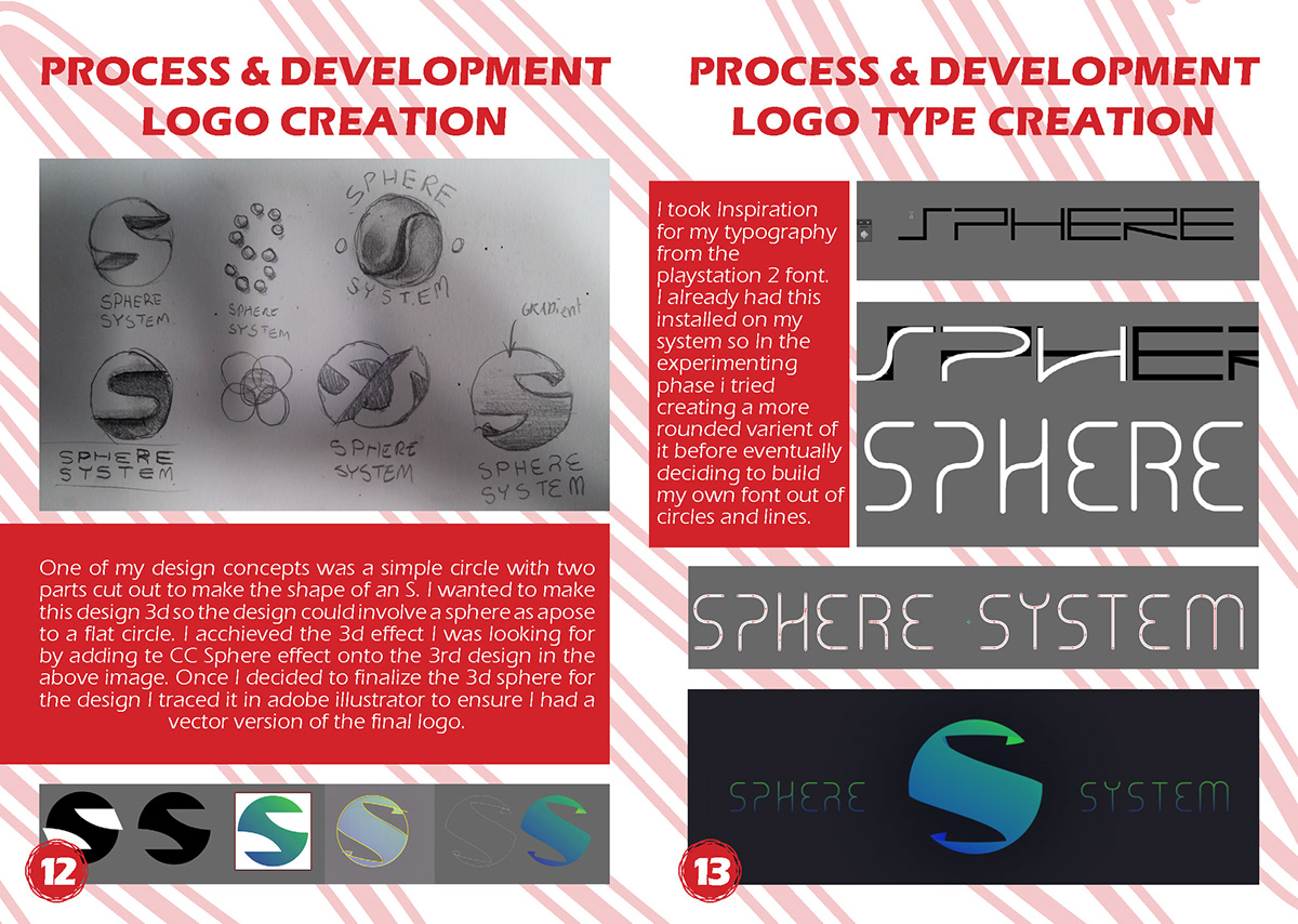 sphere system Gaming console boot up animation  motion graphics  3D rotation design