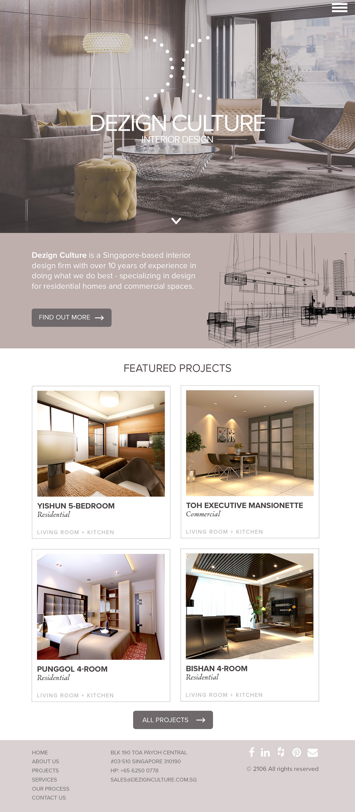 Dezign Culture Interior Design Company On Behance