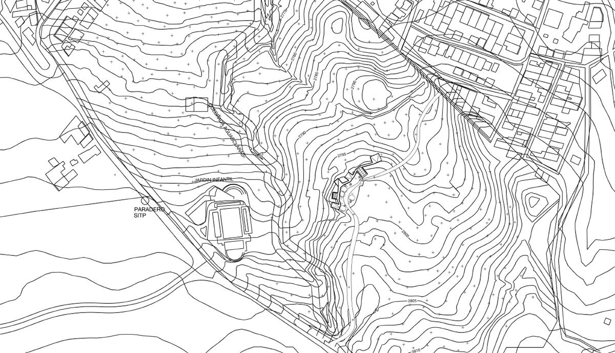 arquitectura comunidad Proyecto. terreno