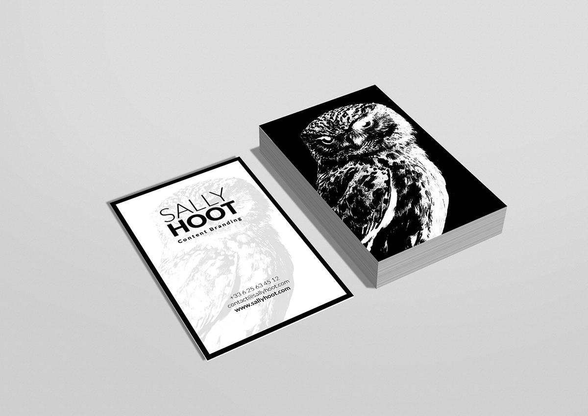FREE PSD / Display Mockup Vertical Business Card / HOOT On Behance