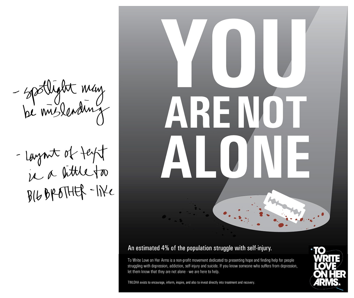 Twloha Design For Cause Poster Awareness Campaign On Behance