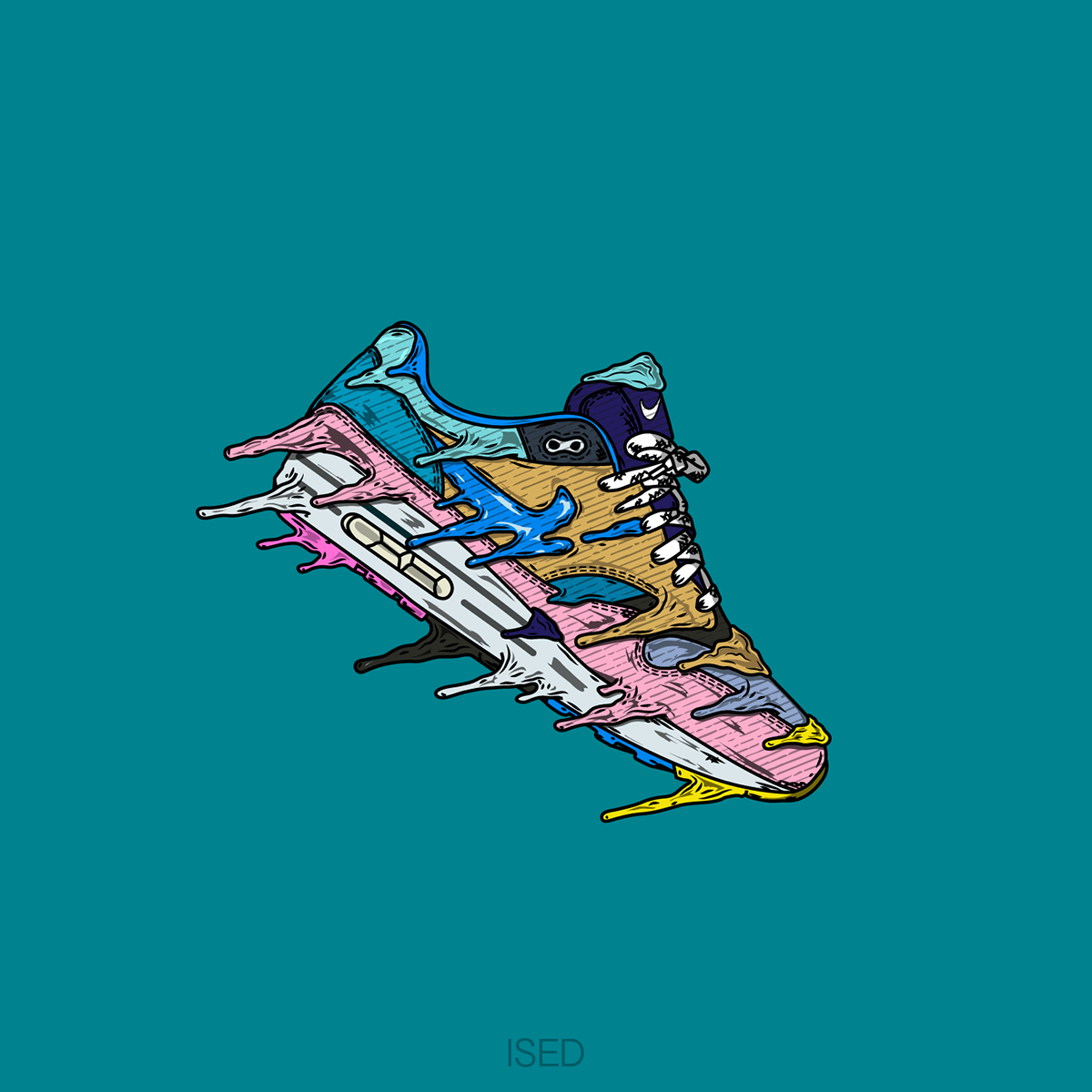 7eb09c07f1 ISED Drippin Sean Wotherspoon Airmax 1 on Behance