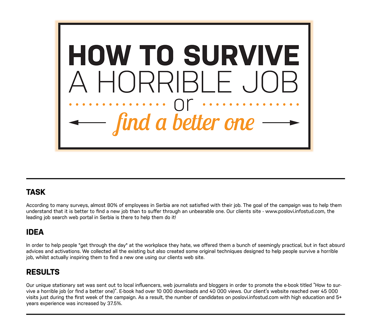 Watch How to Survive the Job Search video
