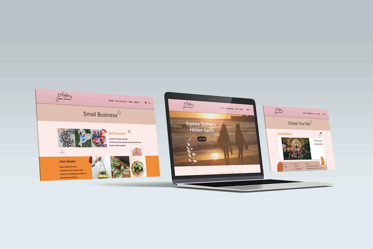 design graphic design  sydney Tourism Campaign tours