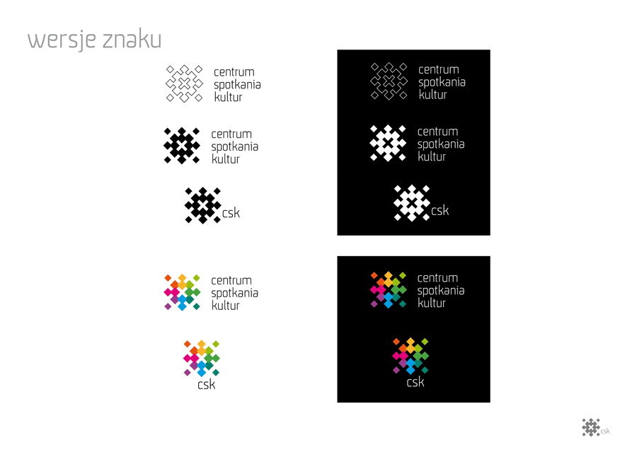 center meeting culturs Stationery logo City Light poster pins modularity