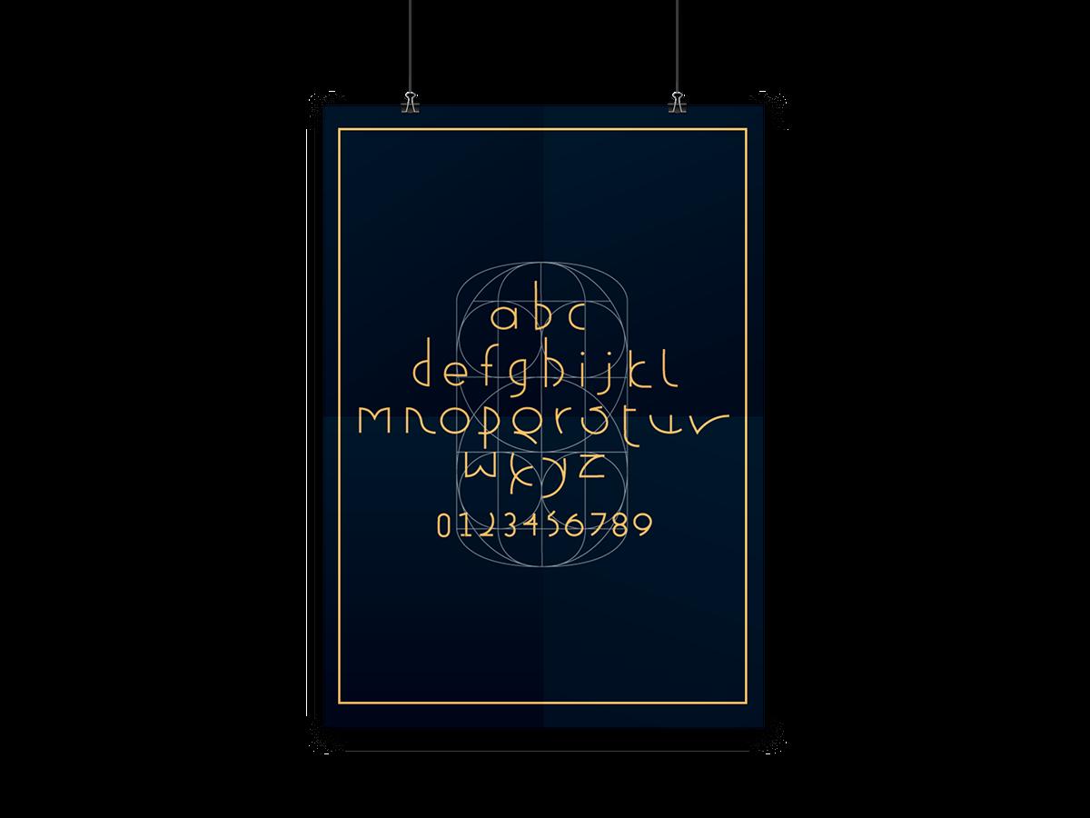 quirk type face Original type grid graid typeface Typeface