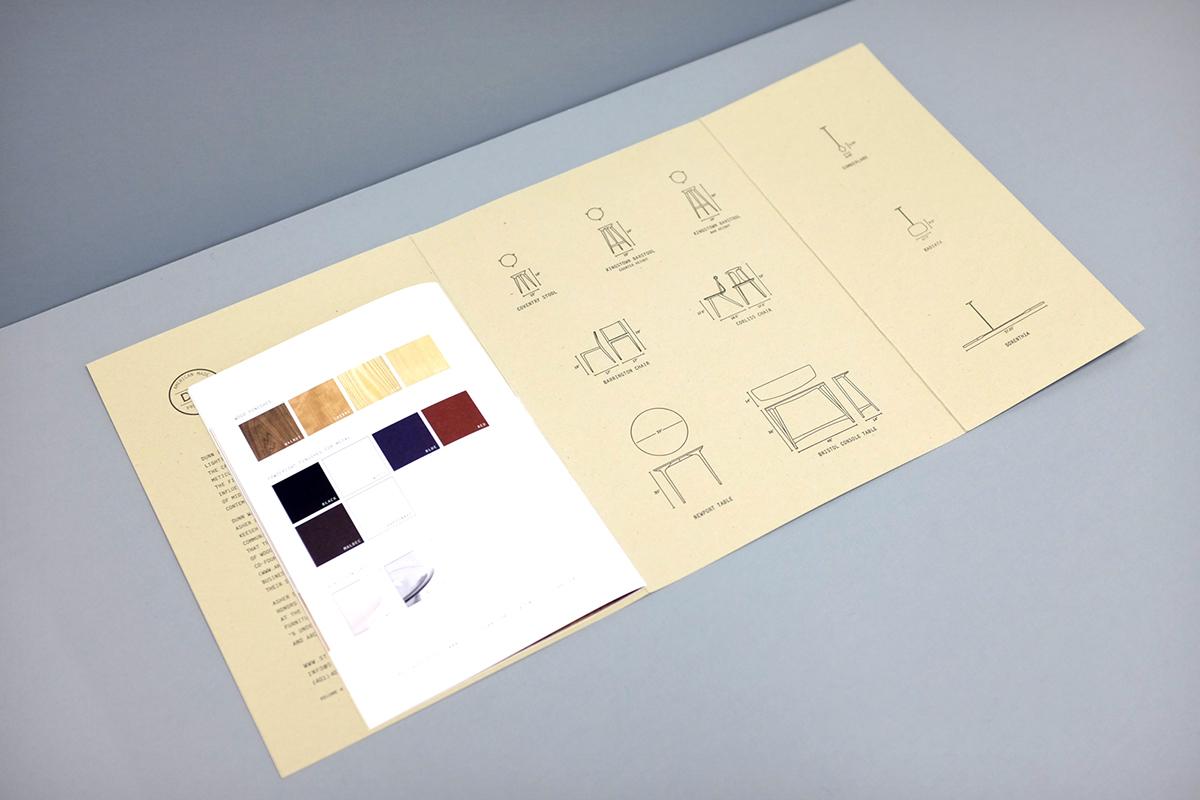 print Lookbook furniture studio dunn dunn icff