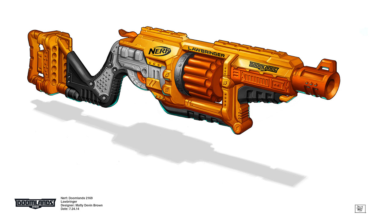 Nerf Doomlands 2169 Vagabond Blaster Review