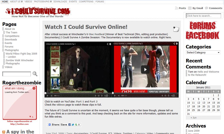 wordpress Website zombies