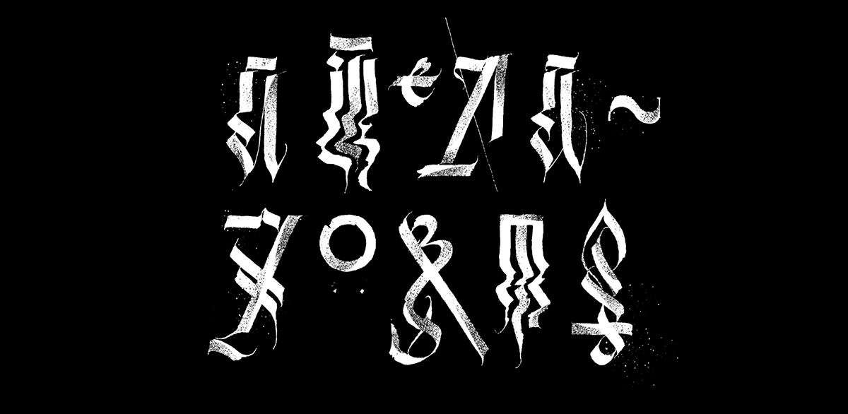 Calligraphy collection by pokras lampas part on behance