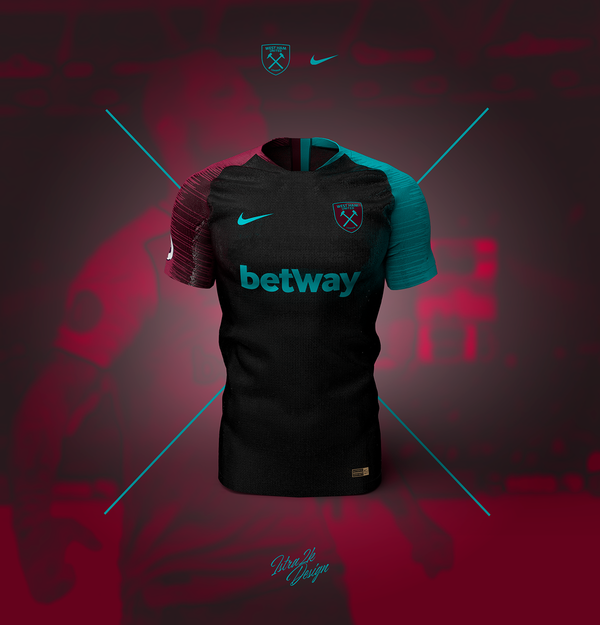 new product b61c5 d3466 West Ham United x Nike on Behance