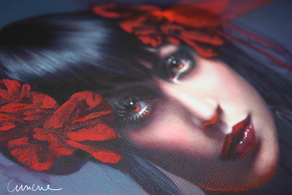 photomanipulation,digital,postproduction,Editing ,egg,dragonfly,fluo,dark,obscure