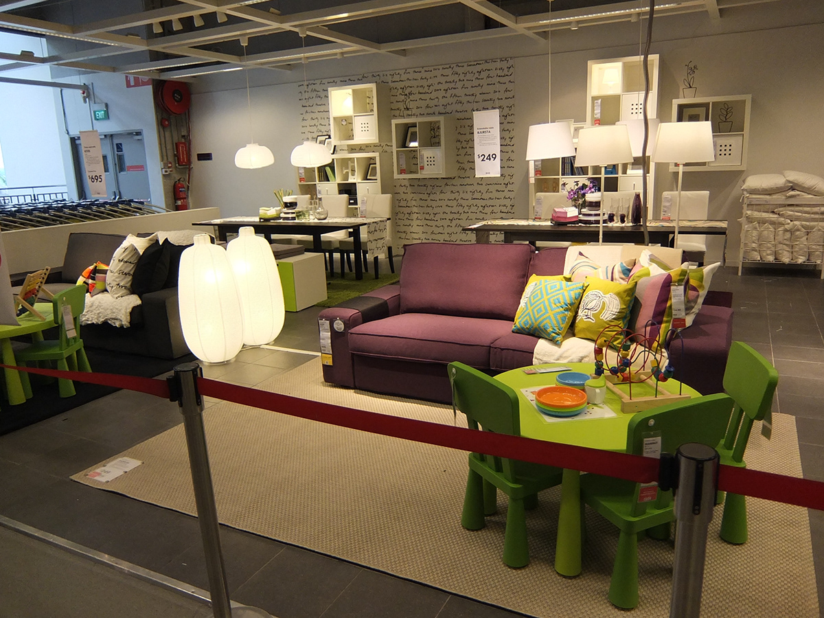 At ikea singapore i was given the opportunity to design and construct showrooms for ikeas living with children concept for ay 2013