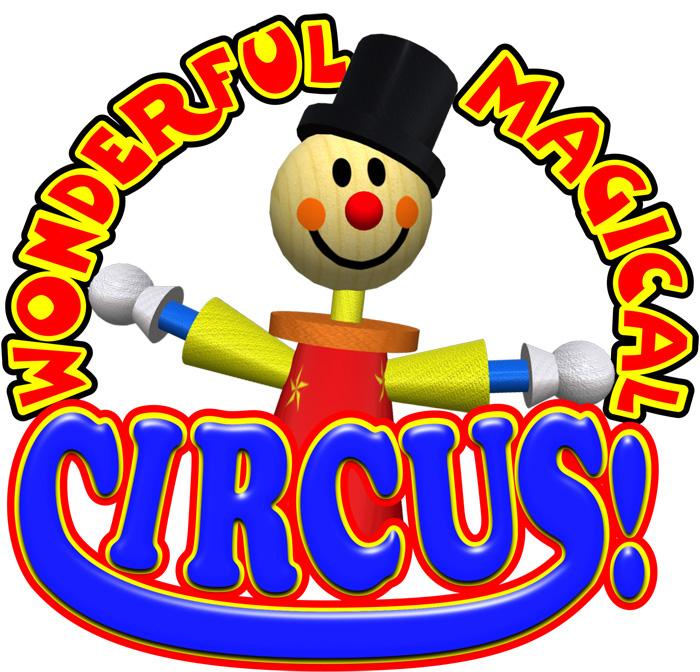logo logos magician clown juggler Entertainer performer design branding  kids