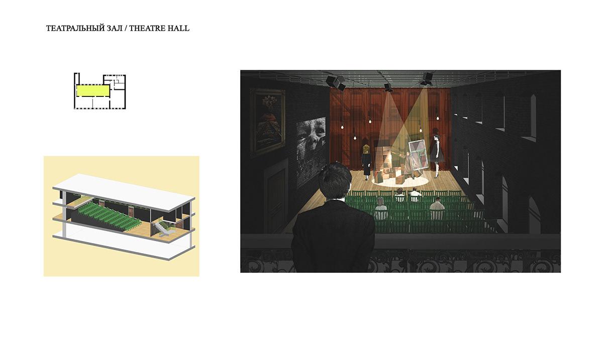 architecture interior design  ILLUSTRATION