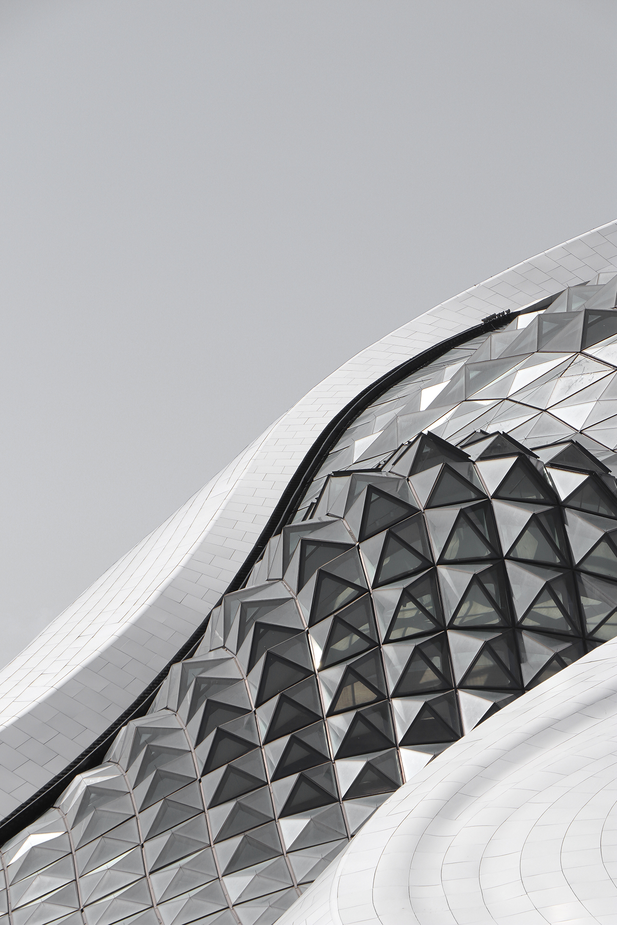 harbin Opera House fluid design mad architects ma yanking ZahaHadid architecture Urban Design drone china
