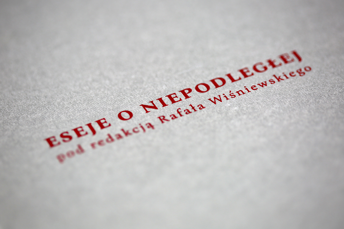 książka,book,special edition,eseje,essays,editorial,hotstamping,typography