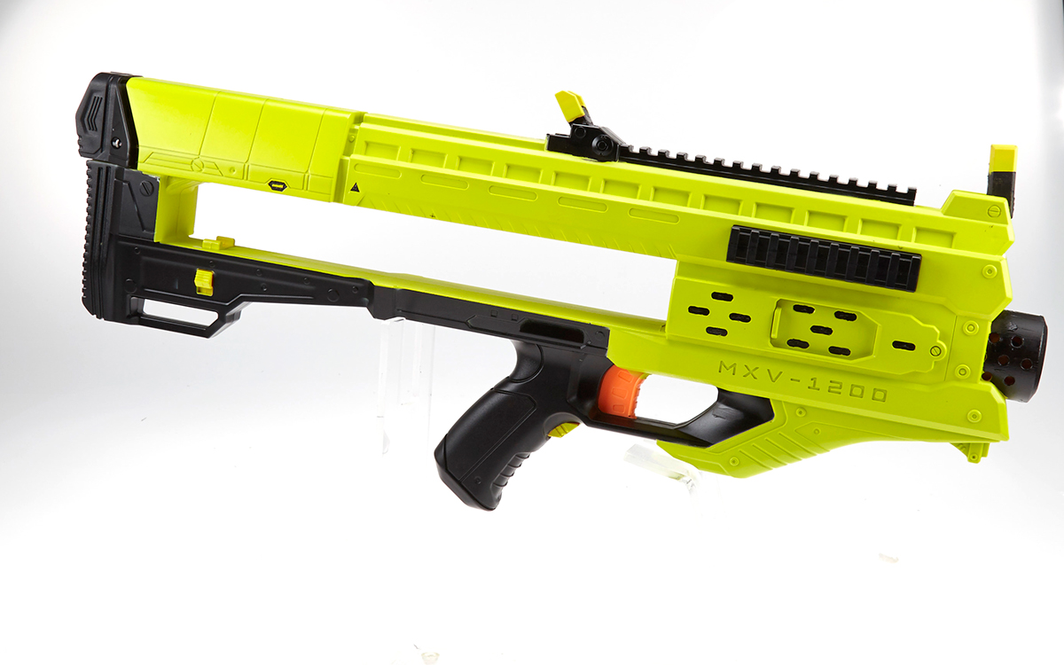 Custom Nerf Blasters On Massart Portfolios