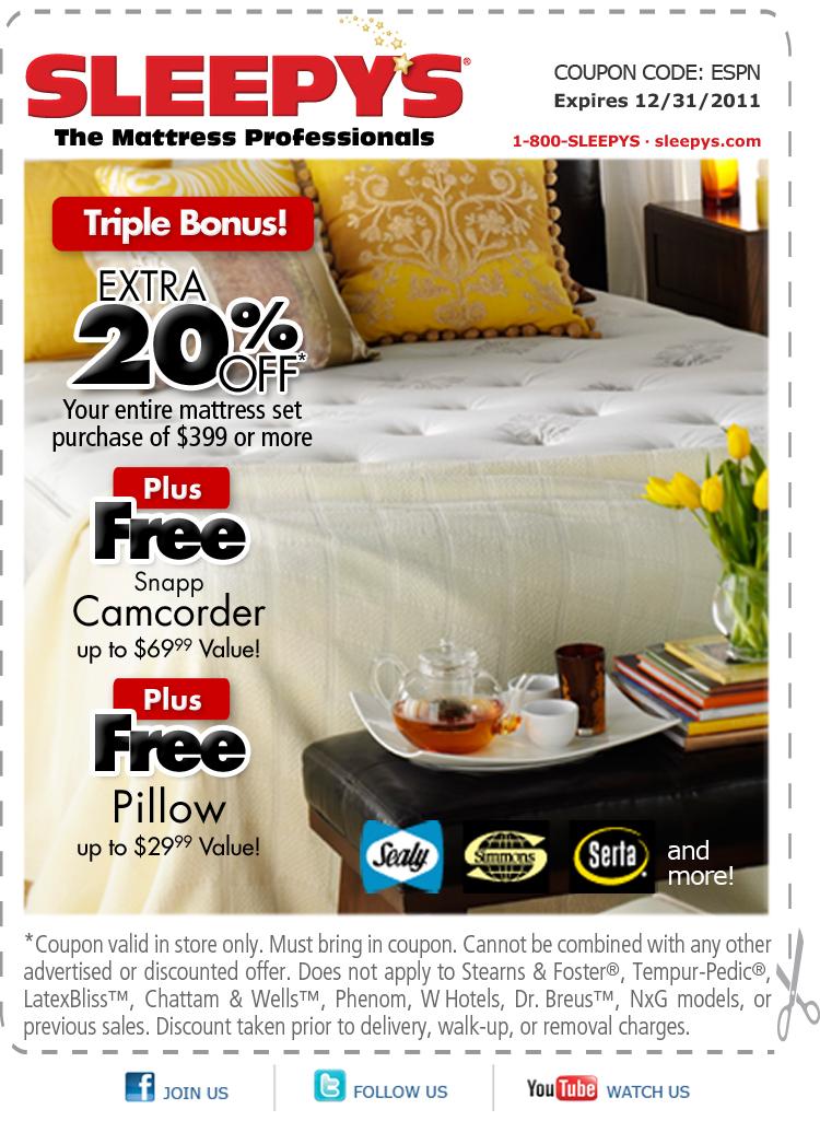 Sleepys coupon code