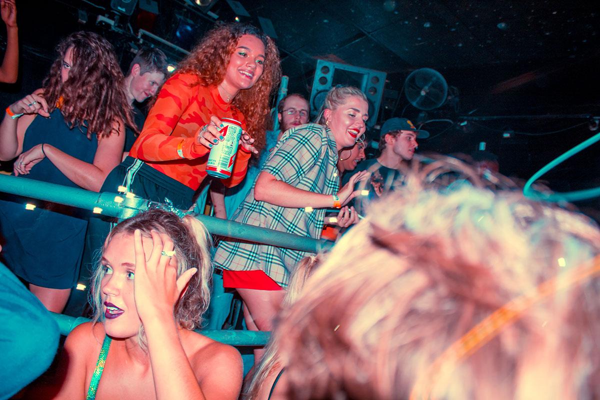 Adobe Portfolio live music nightclub electronic DANCE