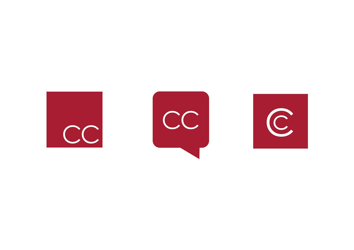 Adobe Portfolio Business Cards Logo Design flat design