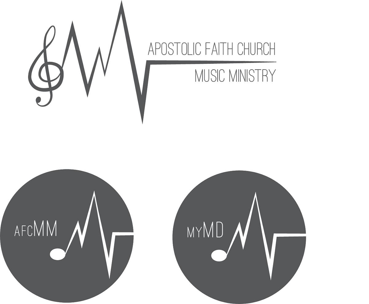 Apostolic Faith Music Ministry Logo On Behance
