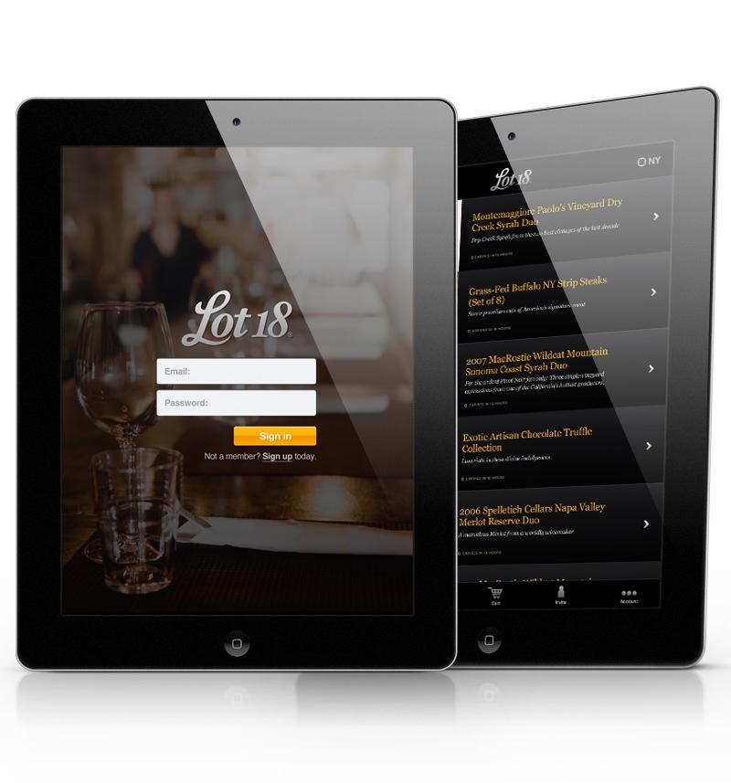 Mobile app ios6 iPad iOS5 wireframe design process app inspire mobile iphone