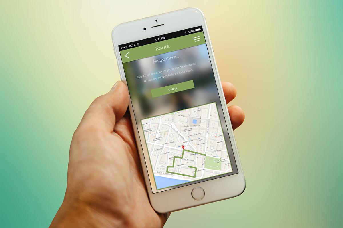 Cycling Smart city SmartCity eco environment application