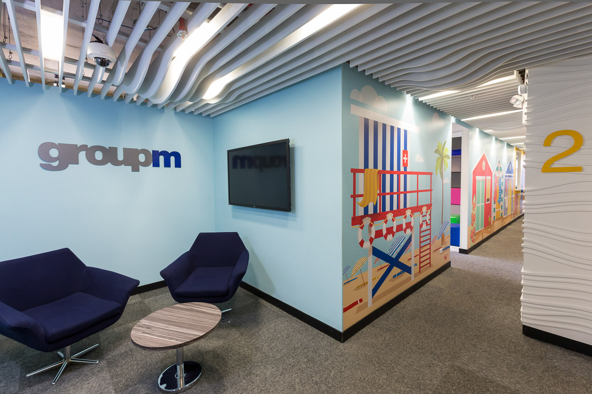 Groupm Colombia 39 S Offices In Bogot On Behance
