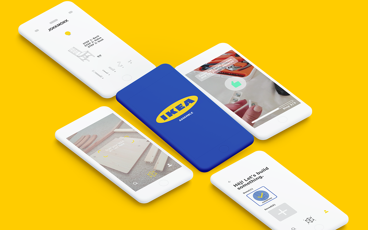 IKEA-Assemble: AR Furniture Assembly on Behance