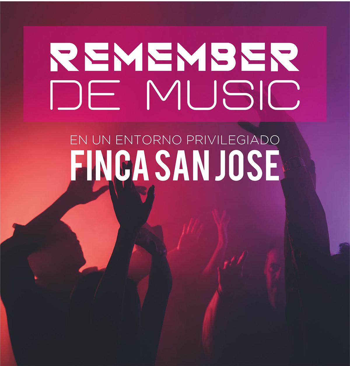 musica Evento cartel remember