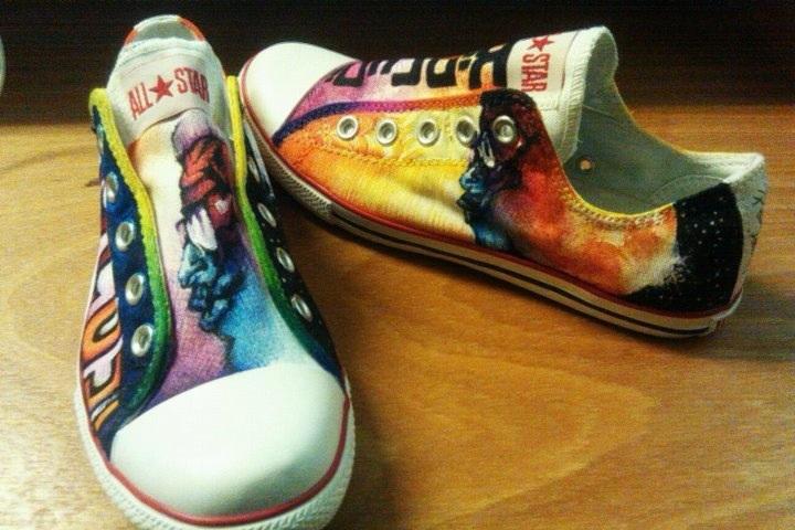 kid cudi shoes on behance
