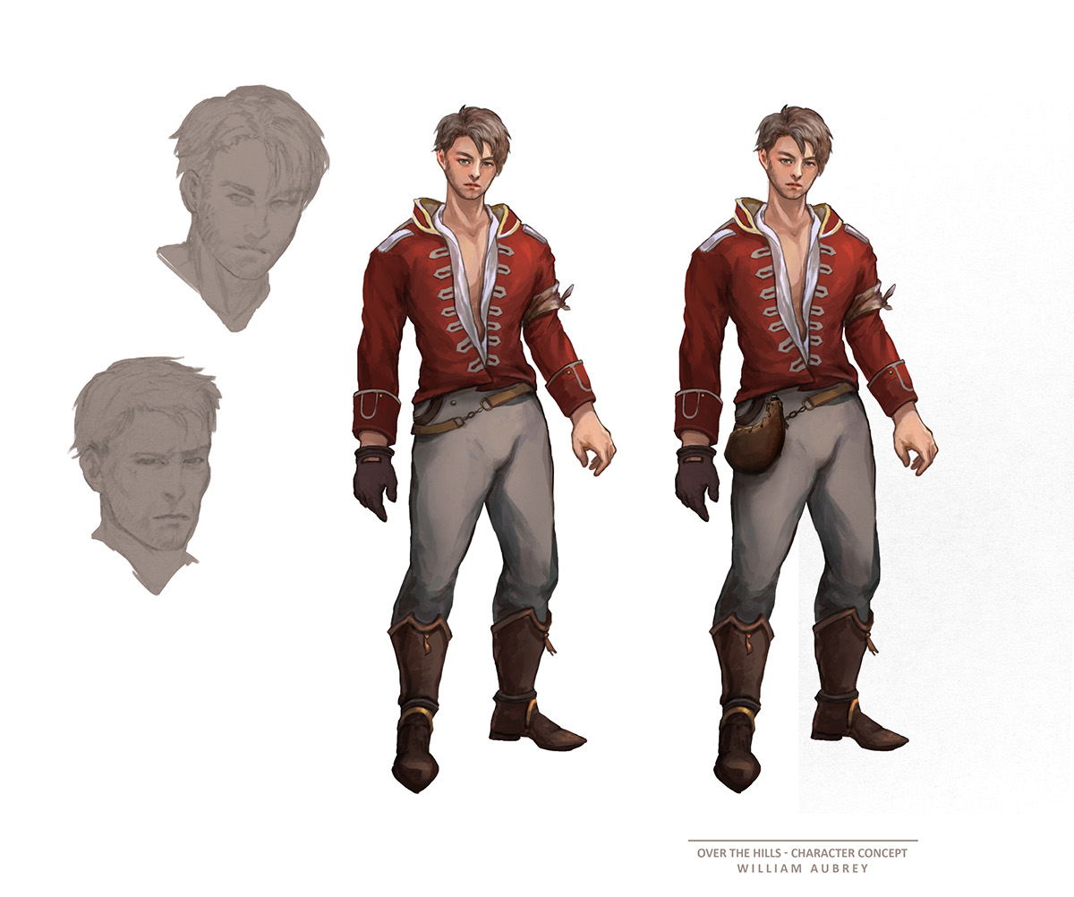 Character Design Course Singapore : Over the hills and far away on behance