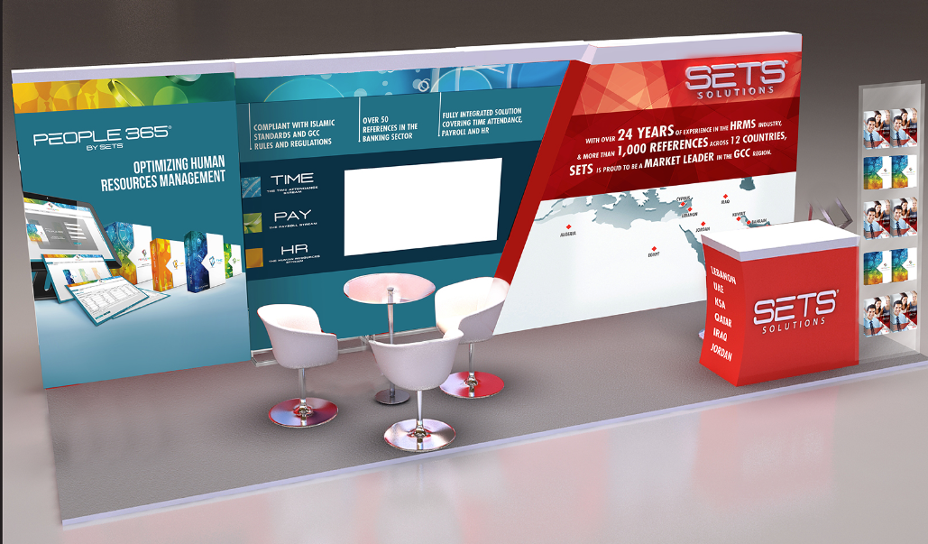 Exhibition Stand Regulations : Julie haydar sets exhibition stand branding
