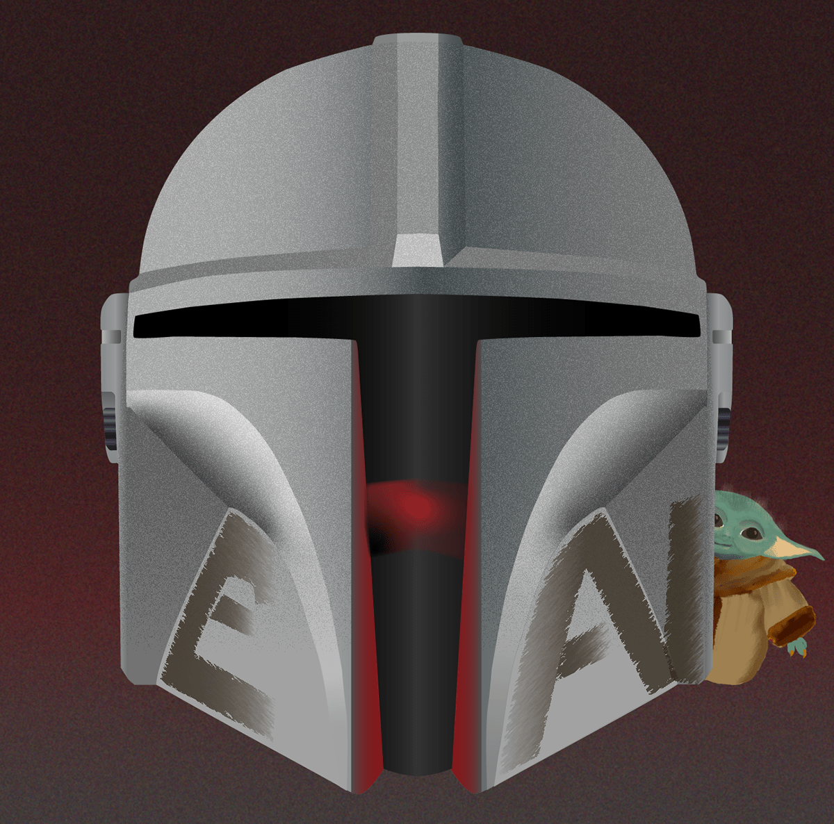 Helmet mandalorian mando star wars