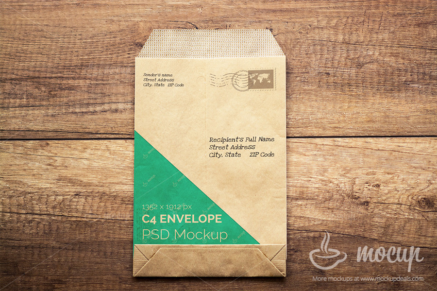 5 psd envelope mockup templates on behance