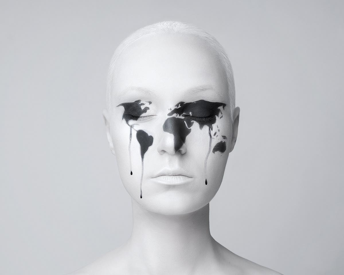 conceptual fine art Photo Manipulation  portrait self portraits surrealism visual art