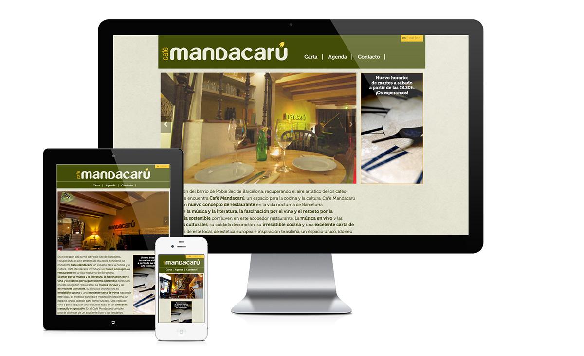 Web Responsive html5 css3 cafe