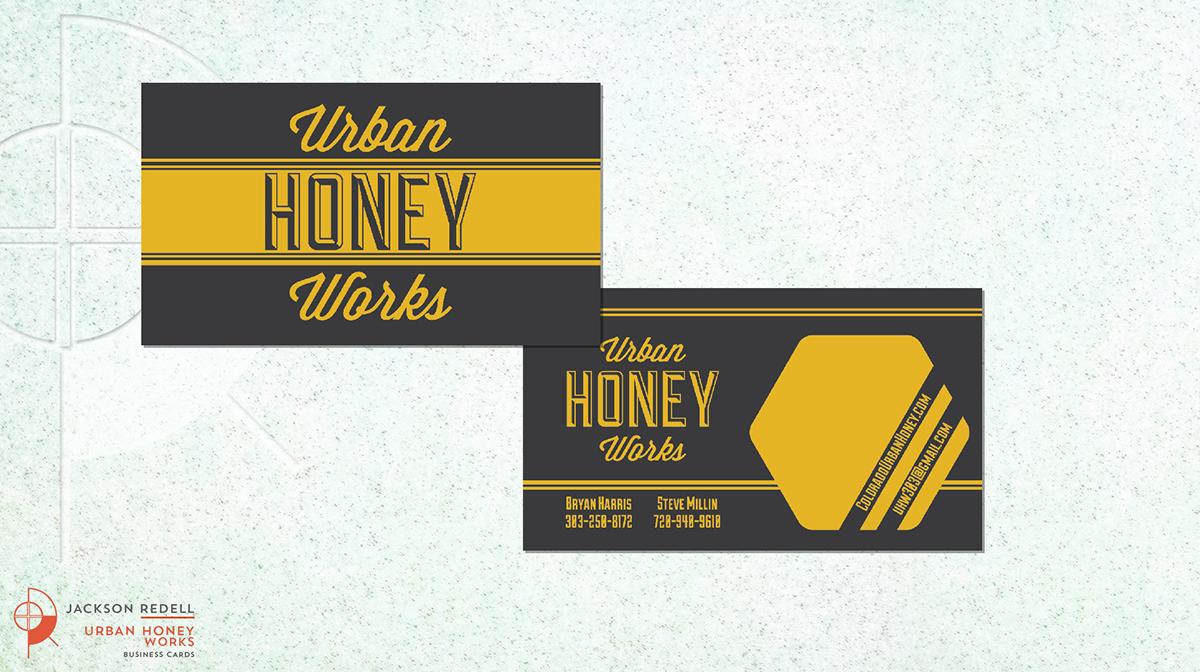 Adobe Portfolio logo Business Cards