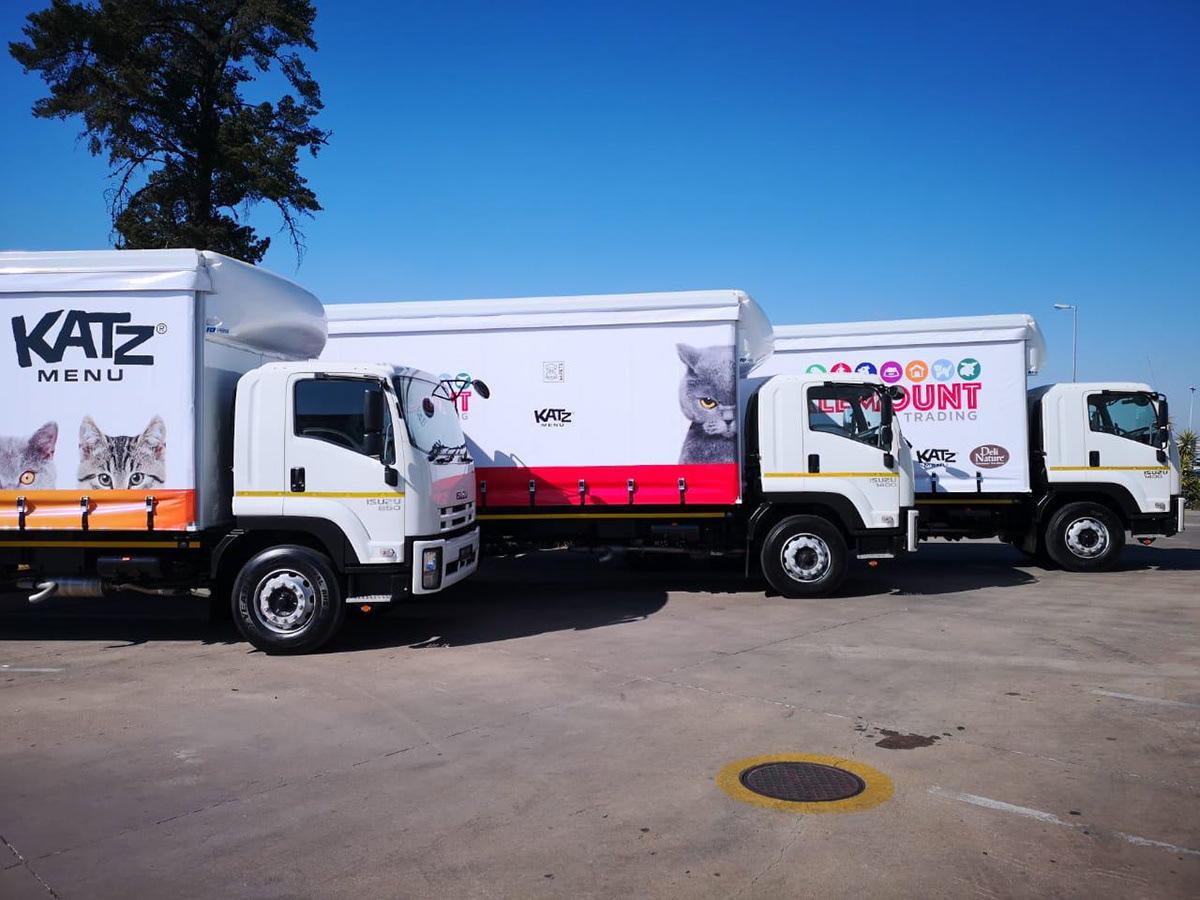 Vehicle branding  Truck