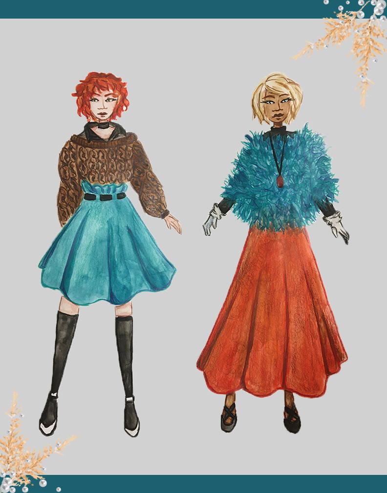 Image may contain: cartoon, dress and clothing
