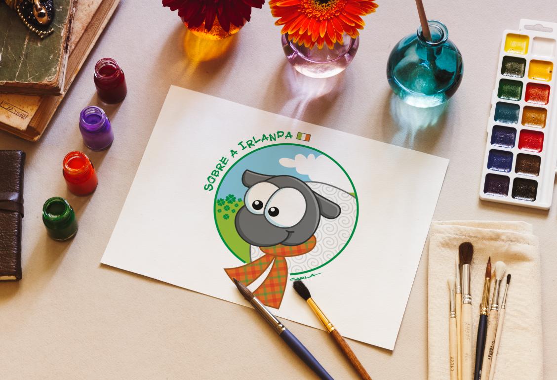 logo brand mascote Character cartoon Travel sites