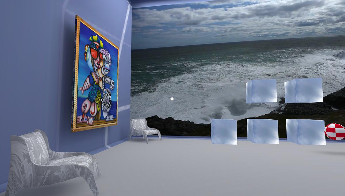 VR memory concentration game for Google Cardboard on Behance