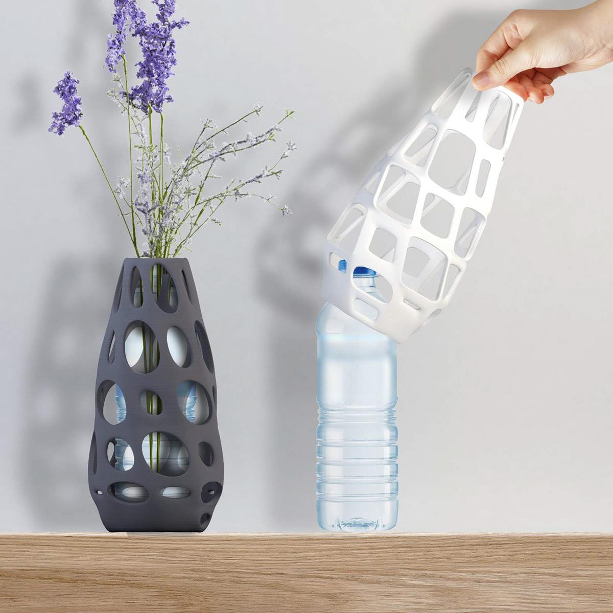 3dprinting bottle parametric recycling Vase